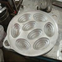 Cetakan Kue Kijing Cubit Kuwung Kering lubang 8 Tradisional