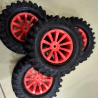 SALE Ban CRAWLER SCT Hex 12mm Orange SECOND RC CAR BAN ASPAL TIRE 1/10