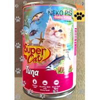 Makanan Kucing Super Cat Baby Kitten Tuna 400gr