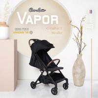 Stroller Cabin Cocolatte Vapor / Kereta Dorong Anak Bayi - Stardust Black