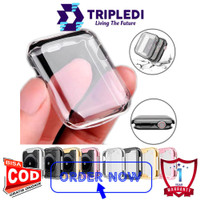 TRIPLEDI Case Apple Watch 6 SE 5 4 3 2 1 42MM 38MM 44MM 40MM Slim Soft