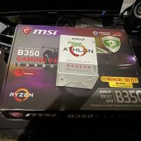 athlon 200ge + Msi b350 gaming pro carbon