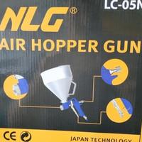 Spray Gun Texture tabung aluminium - Air Hopper Gun