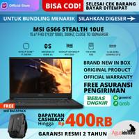MSI GS66 Stealth 10UE Core i7-10870H RTX 3060 16GB 1TB SSD WIN10 15.6