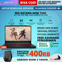 MSI Katana GF66 11UC Core i7-11800H RTX 3050 144Hz 8GB 512GB 15.6 FHD
