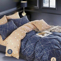 Bed Cover Bahan Star Deluxe Paloma Single 120 cm x 200 cm