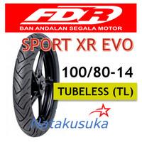 Ban Luar FDR Sport XR Evo Tubeless (TL) 100/80-14