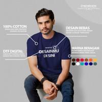 Baju Sablon Kaos Custom Satuan Foto Gambar Nama Tulisan Free Design