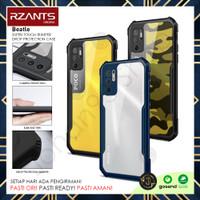 RZANTS Case Xiaomi POCO M3 Pro / Redmi Note 10 5G Bumper Anti Crack - Biru