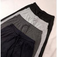 Celana Kulot Panjang Wanita Knit Tebal Import Premium Kekinian