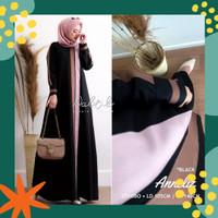 Gamis Wanita Jumbo RPANNELIZ Baju Dress Muslimah Big Size terbaru
