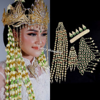 Melati Sunda Jurai Mutiara gold   Silver