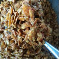baby fish pedas daun jeruk 1000 gram