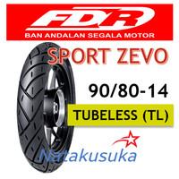Ban Luar FDR Sport Zevo Tubeless (TL) 90/80 - 14