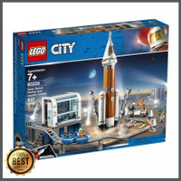 LEGO City 60228 Deep Space Rocket and Launch Control Travel Toy Roket