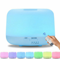 Ultrasonic Aroma Diffuser Humidifier Colorful LED 500 ML + Remote