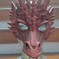 dragon mask topeng naga merah