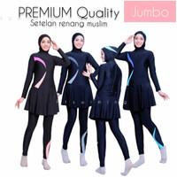 baju renang wanita muslim jumbo/big size-baju renang wanita muslimah