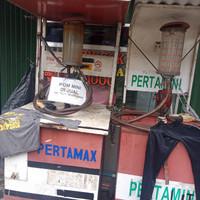 mesin pom mini manual bekas