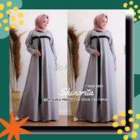 Gamis Jumbo Wanita Muslim RPSHENORITA Baju Dress Gamis Muslimah Dewasa