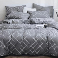Bed Cover Bahan Star Deluxe Minimal Single 120 cm x 200 cm