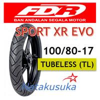 Ban Luar FDR Sport XR Evo Tubeless (TL) 100/80 - 17