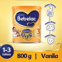 Bebelac 3 Vanilla / Vanila 800 gram / 800g