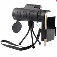 WGWYJ Paket Kekeran Lensa Tele Zoom Smartphone Teropong HP Universal