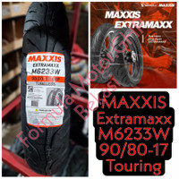 90/80-17 Maxxis Extramaxx M6233W - Ban Motor Ring 17 Tubeless