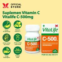 Suplemen Kesehatan Vitalife Ekstrak Vitamin C 30 Kapsul