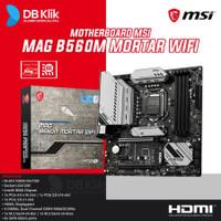 Motherboard MSI MAG B560M MORTAR WIFI m-ATX LGA1200 HDMI DP - MSI B560