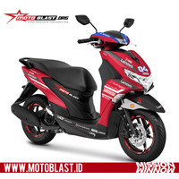 Decal Sticker Motor Motoblast - Yamaha Freego Livery Mission Winnow