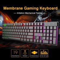 SAGE Keyboard Gaming LED 104 keys type AK - 600 GARANSI RESMI 1 Tahun
