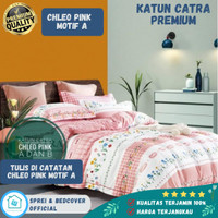 Sprei Bad cover set 180x200 T30 Katun Catra Premium