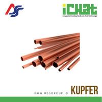 Pipa AC Straight Length Tubes Merk KUPFER