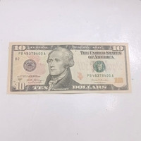 Uang Asli 10 Dollar Amerika / uang dolar USD