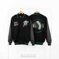 PaleJeans - Varsity Jacket pria / Jaket Varsity Baseball Original.