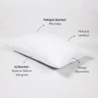 Bantal Dacron DLUXE Lite White 40 x 60