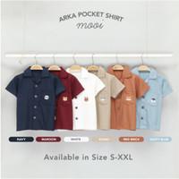 Mooi Kemeja Anak Arka Pocket Shirt