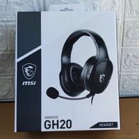 headset gaming headset msi GH20
