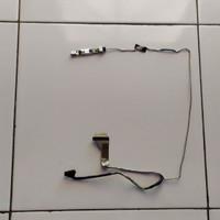 kabel lvds lcd led fleksibel layar kamera laptop toshiba c600 c640