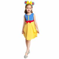 Beli Baju Dress Princess Casual Kostum Snow White Anak Perempuan KC04