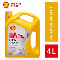 Oli Mesin Shell Helix HX6 10W-40 lt Galon Original SHELL -42241