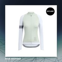 COOLMAX RCC Rapha Women Long Jersey GLACIER - Baju Sepeda Wanita ACM