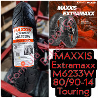 80/90-14 Maxxis Extramaxx M6233W - Ban Motor Ring 14 Tubeless