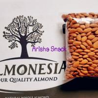 Kacang Almond panggang kupas tanpa garam Blue diamond roasted 500gram