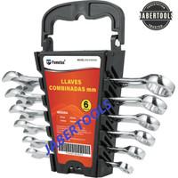 Kunci Ring Pas Set 6 pcs 8mm - 17mm / Kunci Kombinasi / FUMETAX Wrench