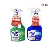Wiz 24 / Wiz24 Disinfeting Disinfektan Spray & Clean Botol 450 ML