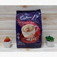 Cadbury Hot Chocolate Drink 3in1 450gr (15sachet x 30gr) Malaysia