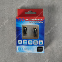 LED T10 Warm White 4300k Autovision Lampu Plafon/Senja/Kota/Plat Nomor